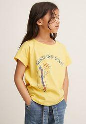 Солнечная футболка Mango 6-7 лет
