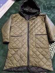 Продаю детское двухстороннее демосезонное пальто унисекс Zara