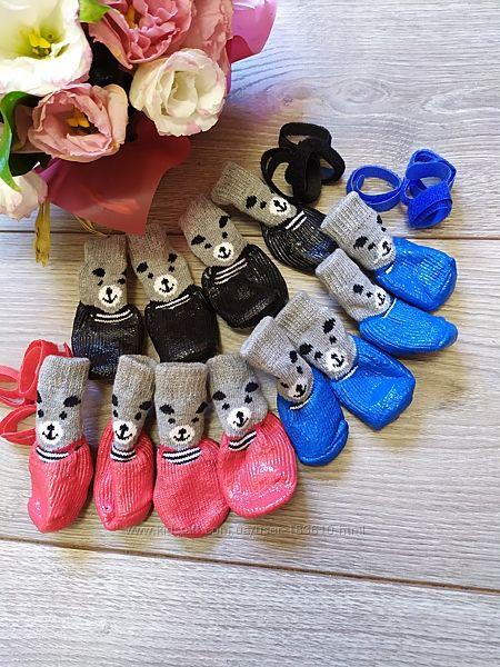 Носочки прорезиненные для собак