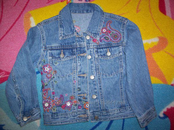 Джинсовый пиджачок Mathercare р. 104
