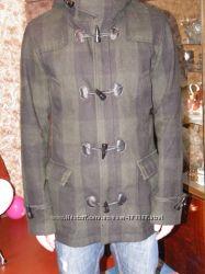 бу демисезонное пальто PULL & BEAR, р. L.