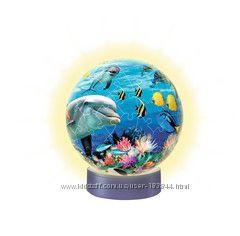 Пазл шар Ровенсбургер  Подводный мир и Властелин колец диаметр 15см