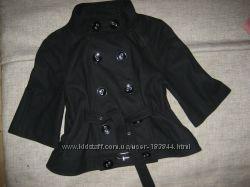 Пальто деми Morgan рост 150-160 шерсть идеальное