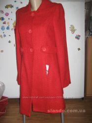 Распродажа пальто деми, Германия р 34, шерсть вискоза рост 155-165