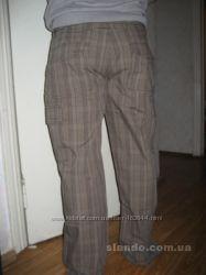 Продам брюки мужские, Германия, р 50 , 6 карманов, плащевка в клетку