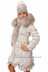 Пальто пуховик De sallitto Италия рост 146-152 на 10-12 лет