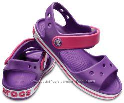 Crocs Crocband Sandal с11, c13, J1 р.28-33 сандалии босоножки. ори