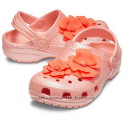 Crocs Kids Classic Vivid Blooms Clog с12 р. 29-30 оригинал