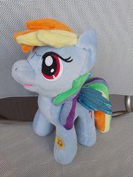 My little pony. Мой маленький пони. Рейнбоу Деш на русском