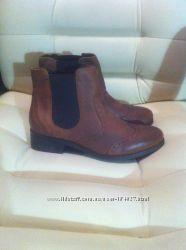 Демисезонные кожаные ботинки. Размер 37-38. Англия. Наличие