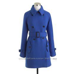 Демисезонное пальто Jcrew, оригинал. Размер XS-S. Шерсть. Наличие