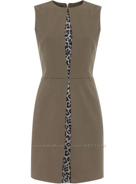 новое платье oggi леопард