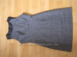 новое платье шерсть с кожей oggi