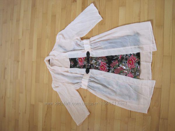 платье в паетках 2 в 1 BCBGMaxAzria