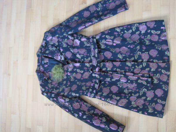 Новый костюм двойка тренч  юбка Styled in Italy primato 38