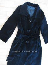 бархатное пальто классика