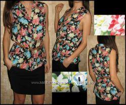 яркая блузка - туника Wallis