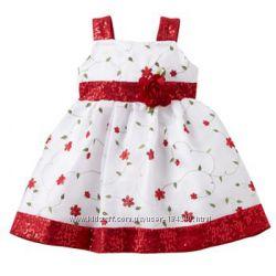 шикарное  платье YOUNGLAND - 3-4г