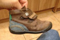 Деми ботиночки, кожаные, 20 и 21 р.