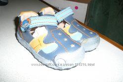 кожанные туфли для мальчика