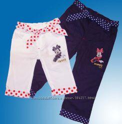 Детские, летние капри для девочек Minniе Mouse. Распродажа