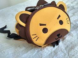 рюкзак Nohoo львёнок левенятко с поводком