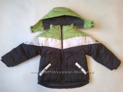 Куртка демисезонная 4Т, утеплена, на флисе