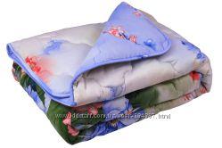 Шерстяное зимнее одеяло Paris-Summer flowers