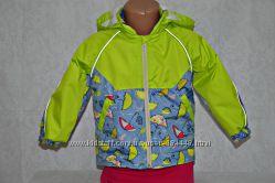 Куртка ветровка на флисе в расцветках