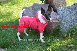 Комбинезоны дождевик для собак