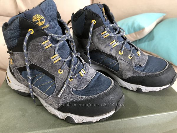 Зимние ботинки Timberland 37 р