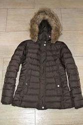 Tommy hilfiger XS куртка пуховая зимняя , пуховик. оригинал