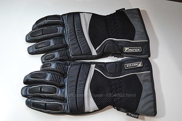 мотоперчатки кожаные polo firefox M Германия