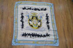 Hermes paris винтажный платок шаль палантин. оригинал