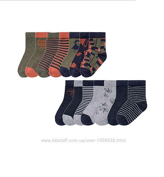Носки трикотажные, 7 пар в комплекте, 23-26, Lupilu