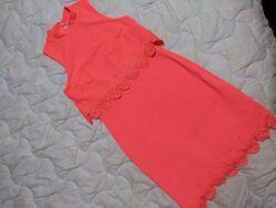 Шикарное стильное яркое платье