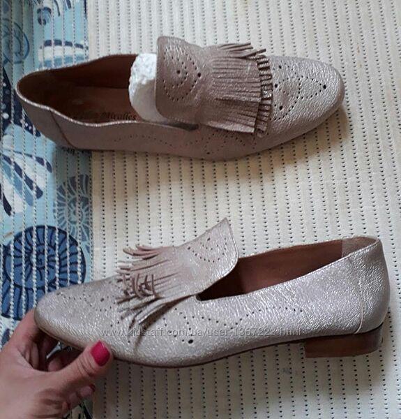 42 люкс испания кожаные туфли бренд