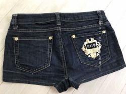 Продаются джинсовые шорты летние Amnesia 28 размер 44 наш Турция с Италией