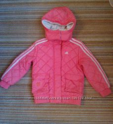 Детская тёплая демисезонная курточка куртка 4-5 года Adidas оригинал