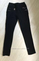 Штаны брюки тёплые зимние школьные на девочку 6, 7, 8 лет