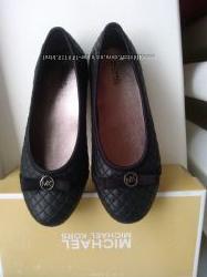Michael michael kors школьная обувь стильные туфли на девочку 32 размер