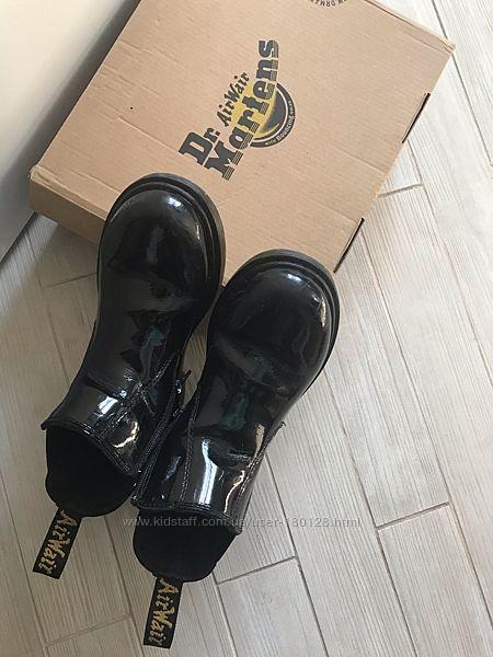 Ботинки детские демисезонные оригинал Dr. Martens кожа 32 размер