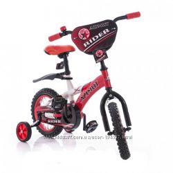 Детский двухколесный велосипед Azimut RIDER 12-дюймов