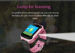 Детские часы с GPS Y21 с фонариком