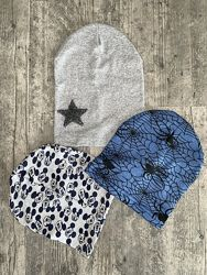 Детские демисезонные шапки - распродажа