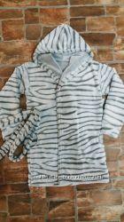 Махровый халат для детей и пижамы