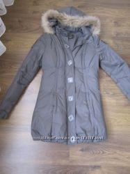 Отличный пуховик-пальто