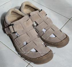 Летние туфли Плато р. 40, нат. замша