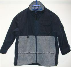 Куртка - ветровка утепленная, двусторонняя Gap на 5-6 лет