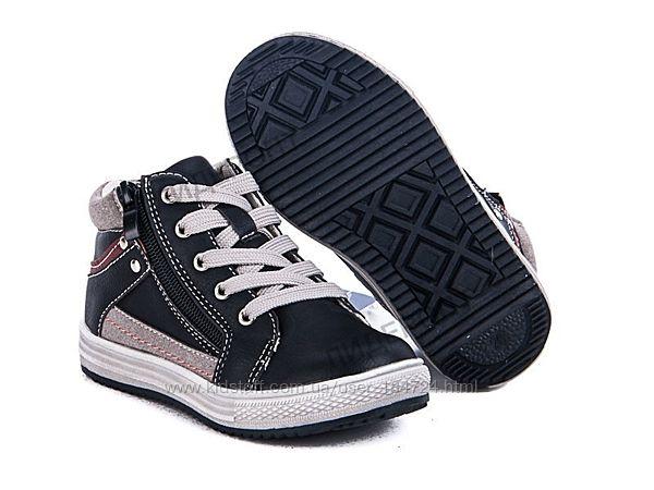 Демисезонные ботинки для мальчика, р. 27-31